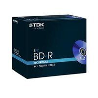BD - R TDK SL 4x 25GB jewel box 5ks - t78008