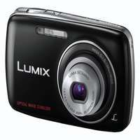 Panasonic dig. fotoaparát DMC-S1EP-K čierny - DMC-S1EP-K