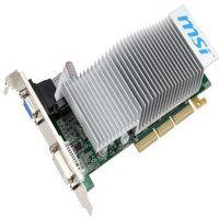 Grafická karta MSI GeForce N6200 512MB DDR2 (64 Bit), D-SUB, DVI - N6200-512D2H/LP