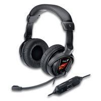 Slúchadlá s mikrofónom GENIUS HS-G500V Gaming, vibrácie - 31710020101