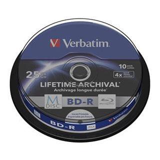 VERBATIM Blu-ray BD-R 25GB 4x potlač. 10ks balenie