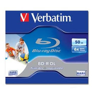 VERB BD-R DL 50GB 6x Wide Printable JC 1ks