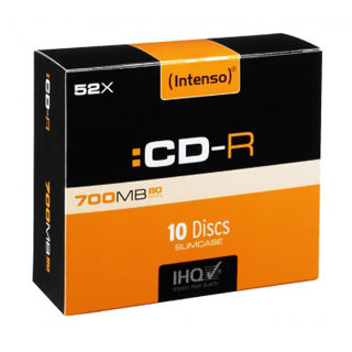 INTENSO CD-R Slim Case 700MB 10ks