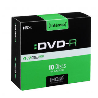 INTENSO DVD-R Slim Case 4,7GB 10ks