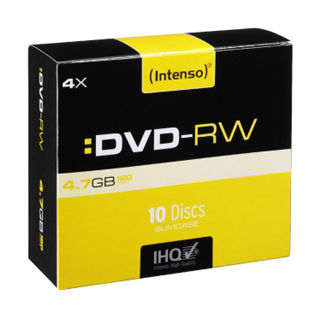 INTENSO DVD-RW Slim Case 4,7GB 10ks