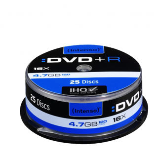 INTENSO DVD+R Cake Case 4,7GB 25ks