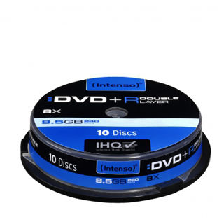 INTENSO DVD+R Cake Case 8,5GB DL 10ks