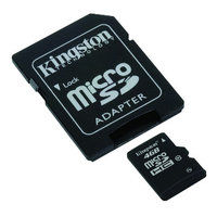 Pamäťová karta Kingston microSDHC 4GB class 10 - SDC10/4GB