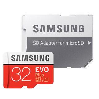 SAMSUNG Micro SDHC EVO+32GB (2017)