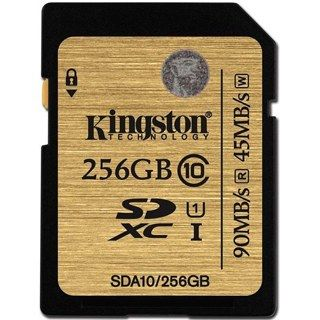 KINGSTON -- SDXC card 256GB Class10 UHS-I