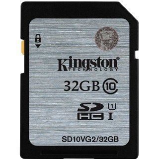 KINGSTON -- SDHC card 32GB Class10 VG2