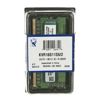 KINGSTON ValueRAM 2GB/DDR3 SO-DIMM/1600MHz/CL11/1.
