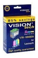 Plniaca sada pre Lexmark 26, 27 Vision Tech, color, 3x20ml