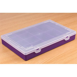 PIMORONI Component Storage Box - 13x Violet
