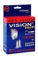 Plniaca sada pre HP 27, Vision Tech, black, 2x20ml