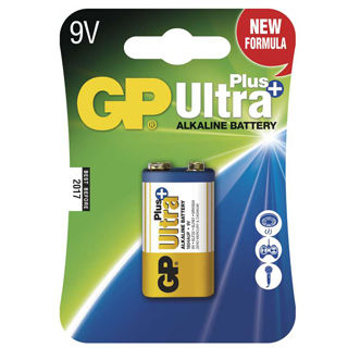 GP Batéria Ultra Alkalická Plus 9V 1ks 1604AUP BL