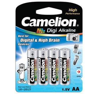 CAMELION Batérie alkalické DIGI AA 4ks LR06