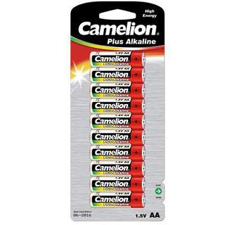 CAMELION Batérie alkalické PLUS AA 10ks LR06
