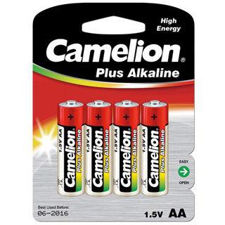 CAMELION Batérie alkalické PLUS AA 4ks LR06