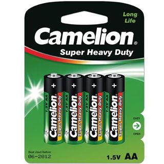 CAMELION Batérie SUPER HD zink-chlorid AA 4ks R06