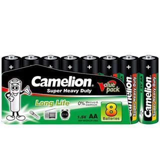 CAMELION Batérie SUPER HD zink-chlorid AA 8ks R06