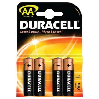 DURACELL Batérie alkalické  BASIC AA 4ks