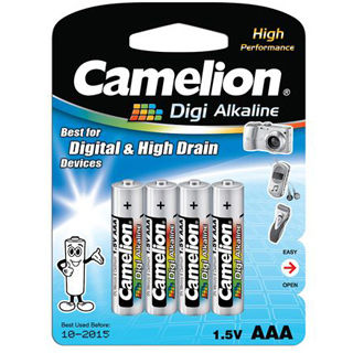 CAMELION Batérie alkalické DIGI AAA 4ks LR03