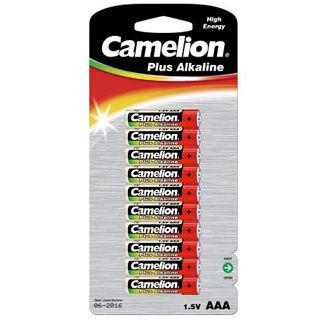 CAMELION Batérie alkalické PLUS AAA 10ks LR03