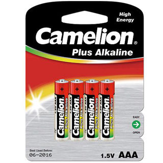 CAMELION Batérie alkalické PLUS AAA 4ks LR03-BP4