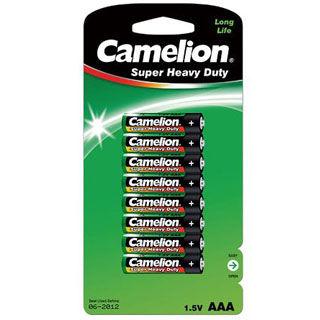 CAMELION Batérie SUPER HD zink-chlorid AAA 8ks