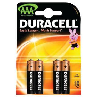DURACELL Batérie BASIC AAA 4ks LR03