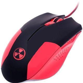 CONNECT IT BATTLE V2 herná myš, cervena CI-456