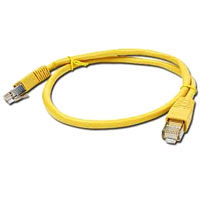 PATCH KABEL UTP 0.5m yellow