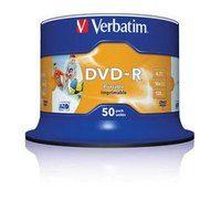 DVD - R Verbatim Printable NO ID 4,7 GB, 16x cake 50ks - 43533