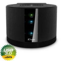Fantec SQ-X2RU3e black USB 3.0 eSATA Raid 2xHDD