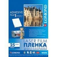 LOMOND PET film Laser A4/25 samolep White 2810003