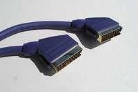 Kábel SCART-SCART 1,0m HGS NB