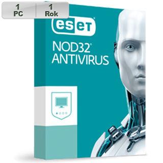 ESET NOD32 Antivirus 2018 1PC na 1r