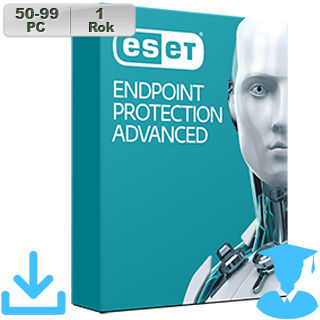 ESET Endpoint Prot Adv 2018 EDU 50-99PC na 1r