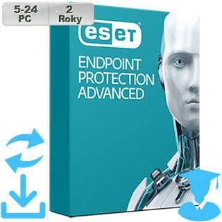 ESET Endpoint Prot Adv 2018 EDU 5-24PC na 2r Aktu