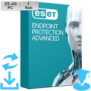 ESET Endpoint Prot Adv 2018 EDU 25-49PC na 1r Aktu