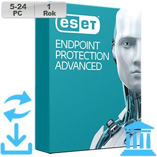 ESET Endpoint Prot Adv GOV 2018 5-24PC na 1r Aktu