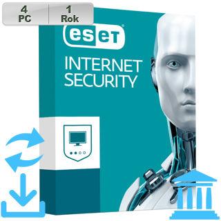 ESET Internet Security 2018 GOV 4PC na 1r Aktu