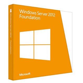 MICROSOFT Windows Server 2012 Foundation Res EN/CZ