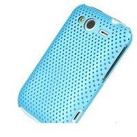 OEM Zadný ochranný kryt Mesh Light Blue pre HTC Wi