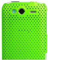 Zadný ochranný kryt Mesh Green na HTC Wildfire S + fólia