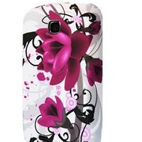 OEM Ochranný kryt pre Wild Pink Flowers na Samsung