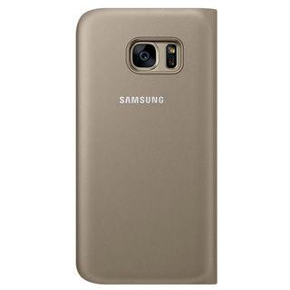 SAMSUNG Púzdro FLIP pre Galaxy S7 zlaté