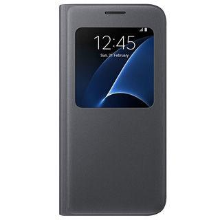 SAMSUNG Púzdro S VIEW pre Galaxy S7 čierne