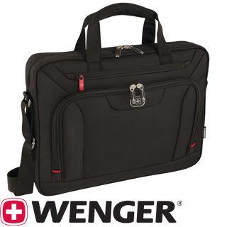 "WENGER INDEX 16"" Tenká taška na notebook čier"